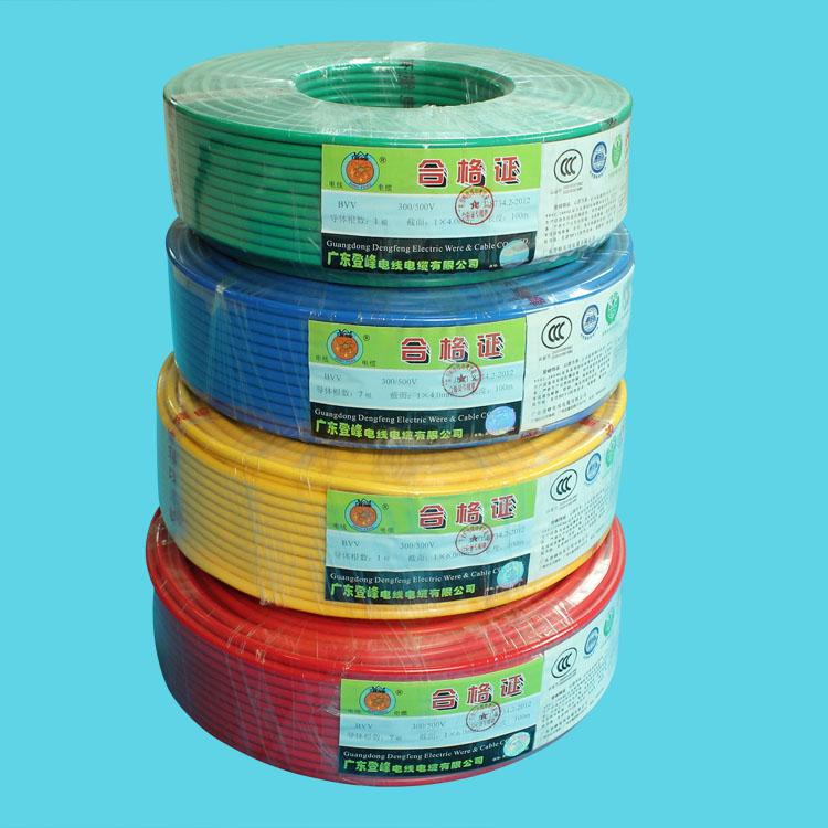 铜芯聚氯乙烯绝缘护套软电缆(BVV)